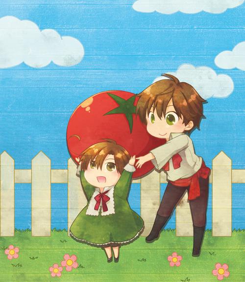 Tags: Anime, Rinko Sky, Axis Powers: Hetalia, Spain, Chibimano, Pixiv, Mediterranean Countries