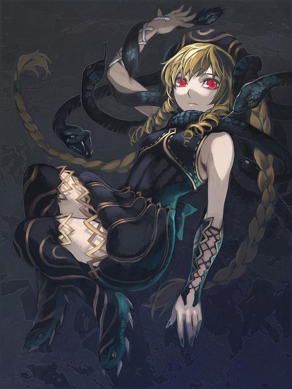 Tags: Anime, Aoinhatsu, SOUL EATER, Medusa Gorgon, Pixiv