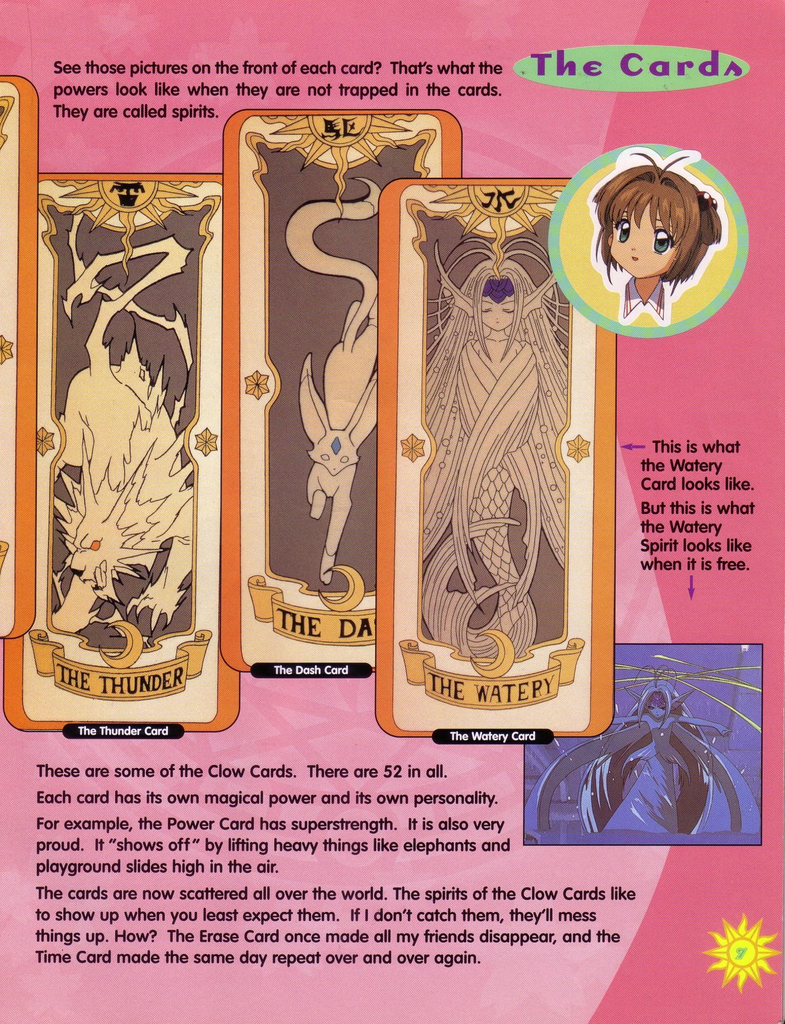 meet the cardcaptors sticker storybook cardcaptor sakura