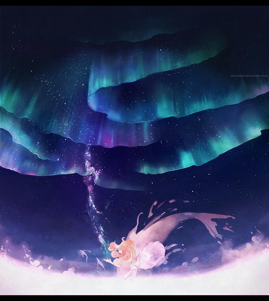 Aurora Borealis Zerochan Anime Image Board