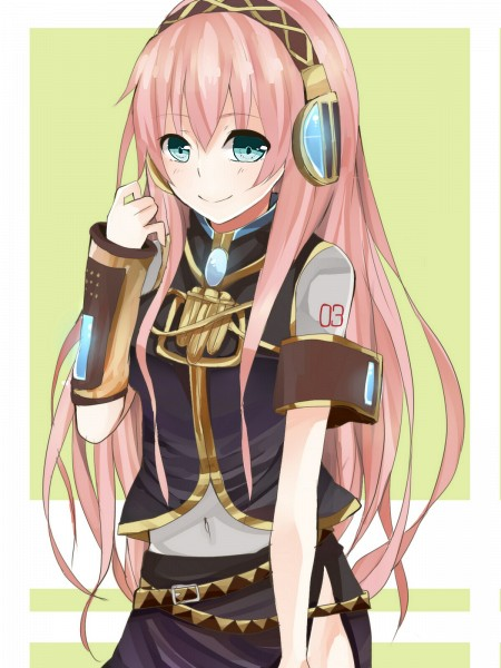 Tags: Anime, Minaduki0038, VOCALOID, Megurine Luka