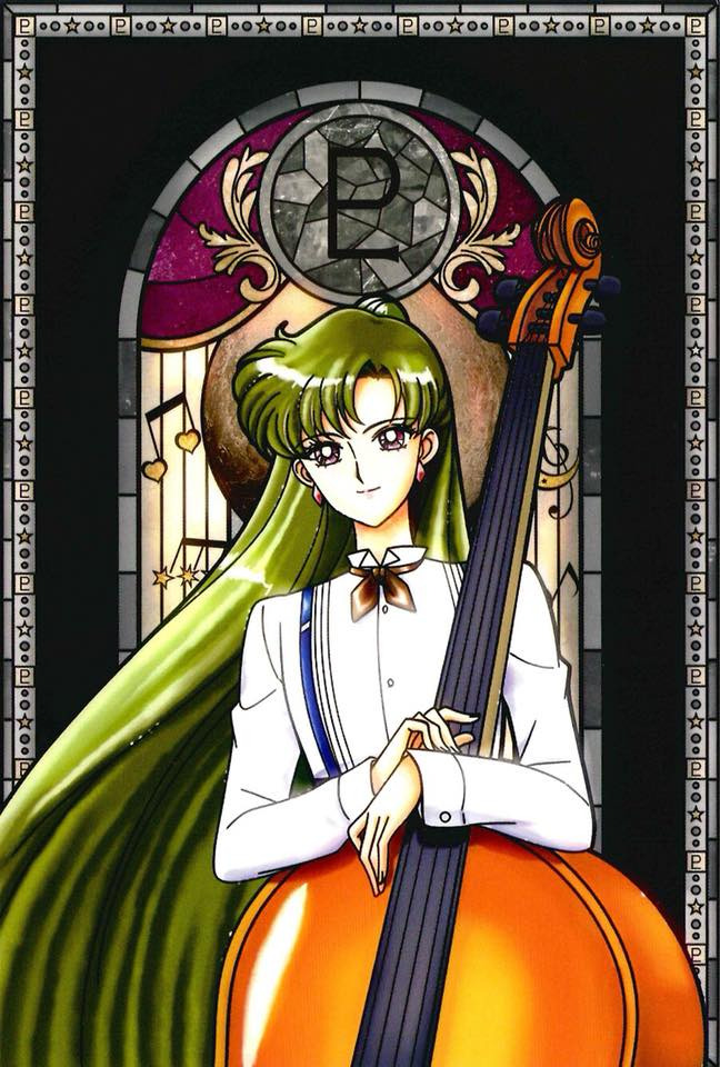 Tags: Anime, Bishoujo Senshi Sailor Moon, Meiou Setsuna, Official Art