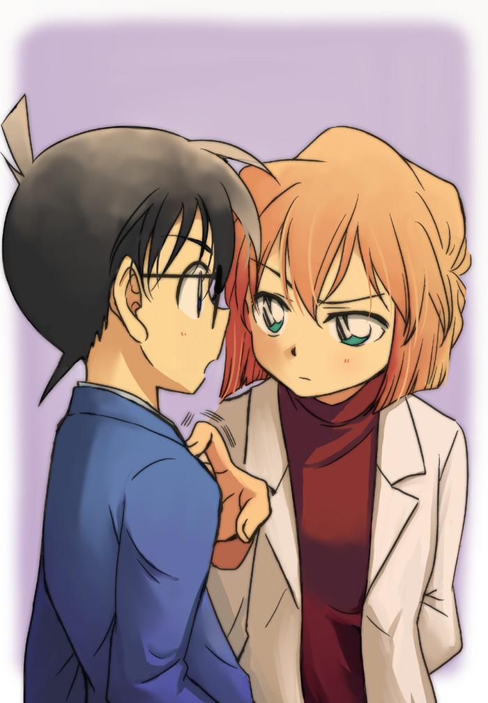 Haibara And Conan