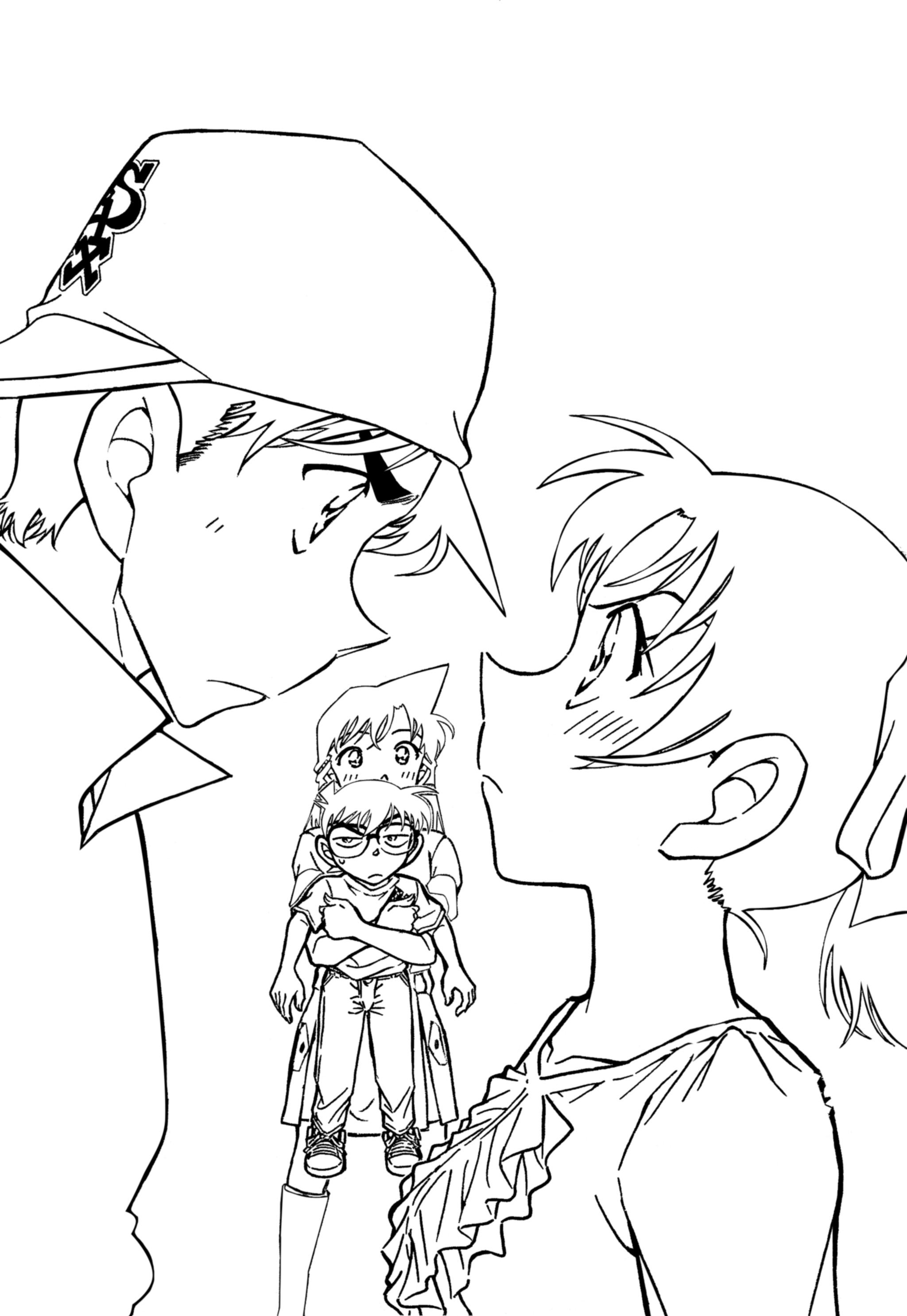 Uncategorized Detective Conan Coloring Pages meitantei conan detective aoyama goushou image 893289 view fullsize image