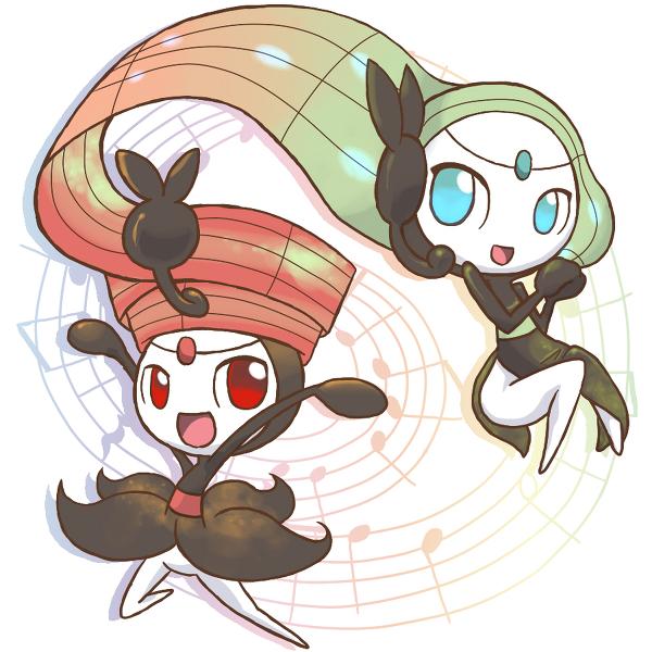 Tags: Anime, Pixiv Id 3662715, Pokémon, Meloetta, Legendary Pokémon