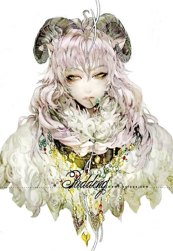 Tags: Anime, Memipong, Capricorn (Zodiac), Pixiv, Zodiac, Mobile Wallpaper, Original