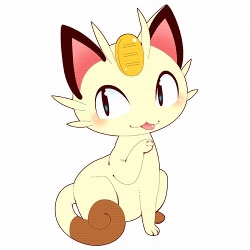 Tags: Anime, Ghost-pepper, Pokémon, Meowth, Pixiv, Fanart From Pixiv, Fanart