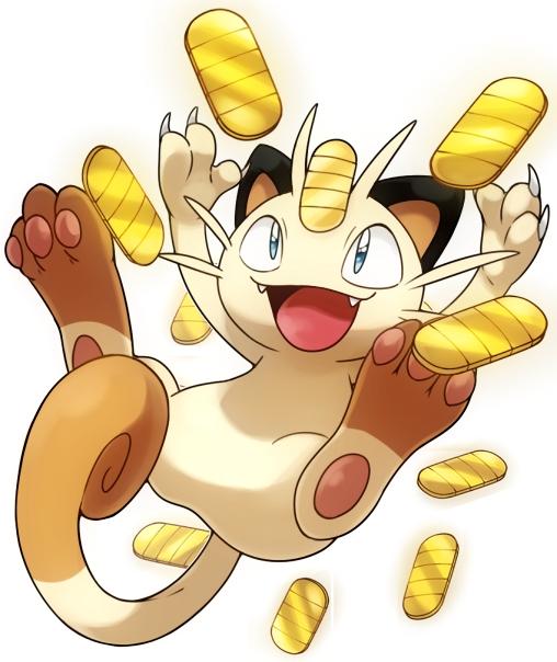 Tags: Anime, Pixiv Id 228177, Pokémon, Meowth, Jackpot, Fanart, Fanart From Pixiv, Pixiv