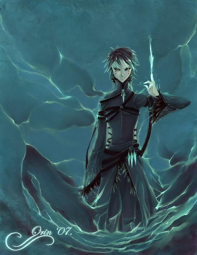 Tags: Anime, Orin, Sonic '06, Sonic the Hedgehog, Mephiles the Dark, deviantART, Fanart From DeviantART, Fanart