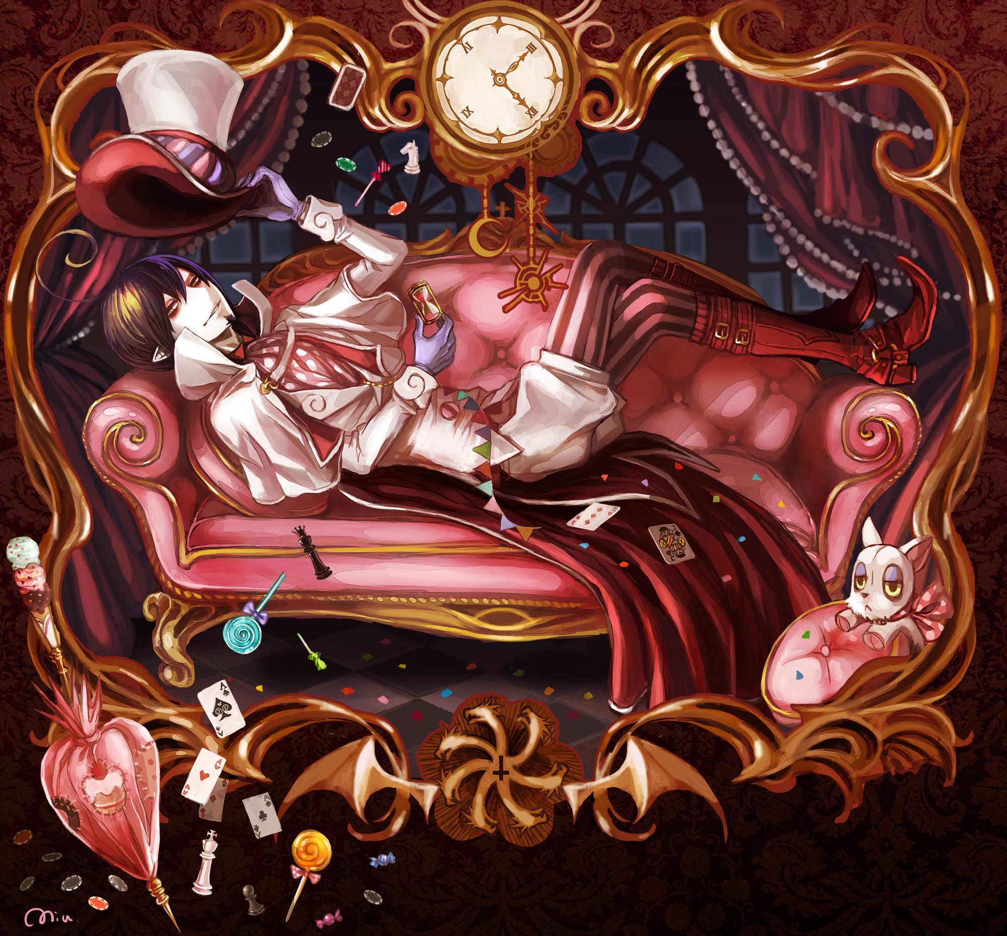 Blue Exorcist Mephisto Wallpaper