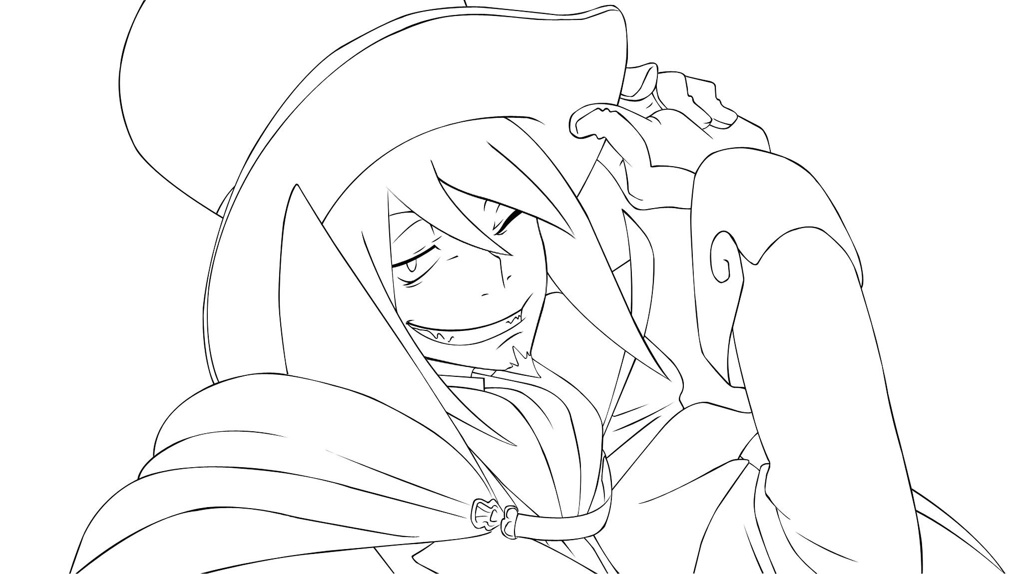 Zerochan Lineart : Mephisto pheles  zerochan