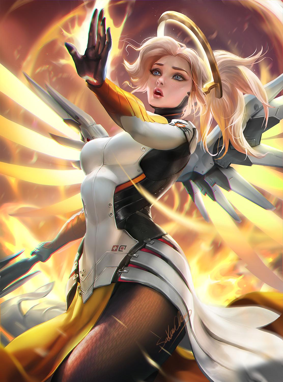 Mercy Overwatch - Overwatch - Zerochan Anime Image Board-7392