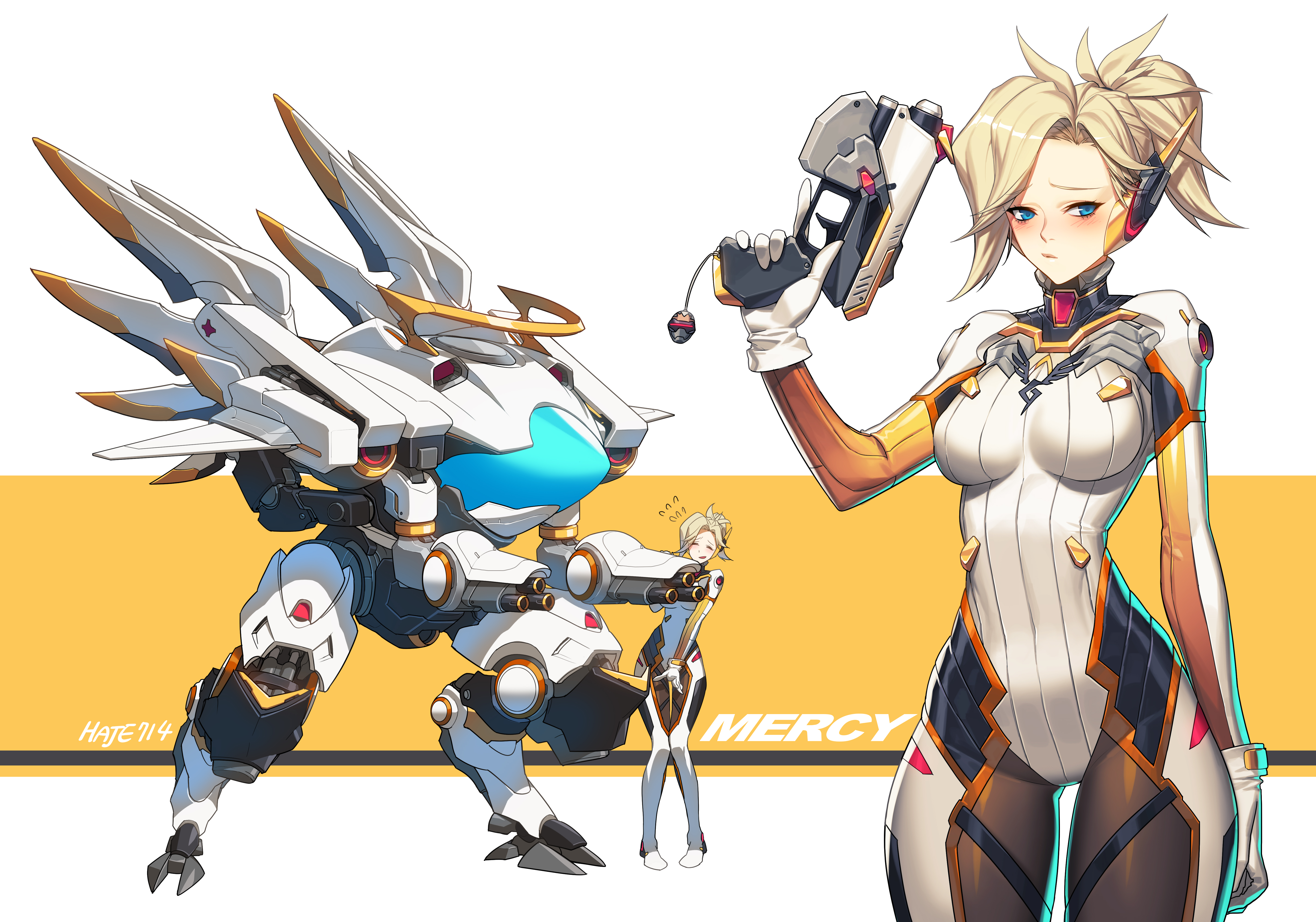Tags anime pixiv id 7369094 overwatch mercy fanart from pixiv
