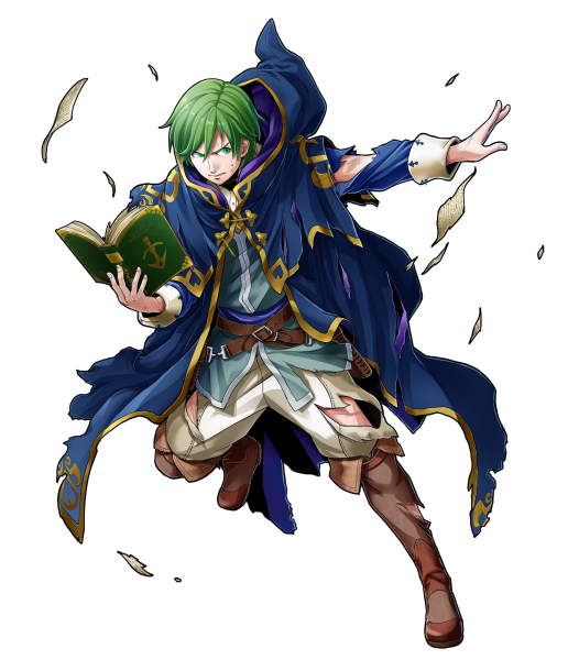 Tags: Anime, Mizuno Kana, Intelligent Systems, Fire Emblem Heroes, Merric (Fire Emblem)