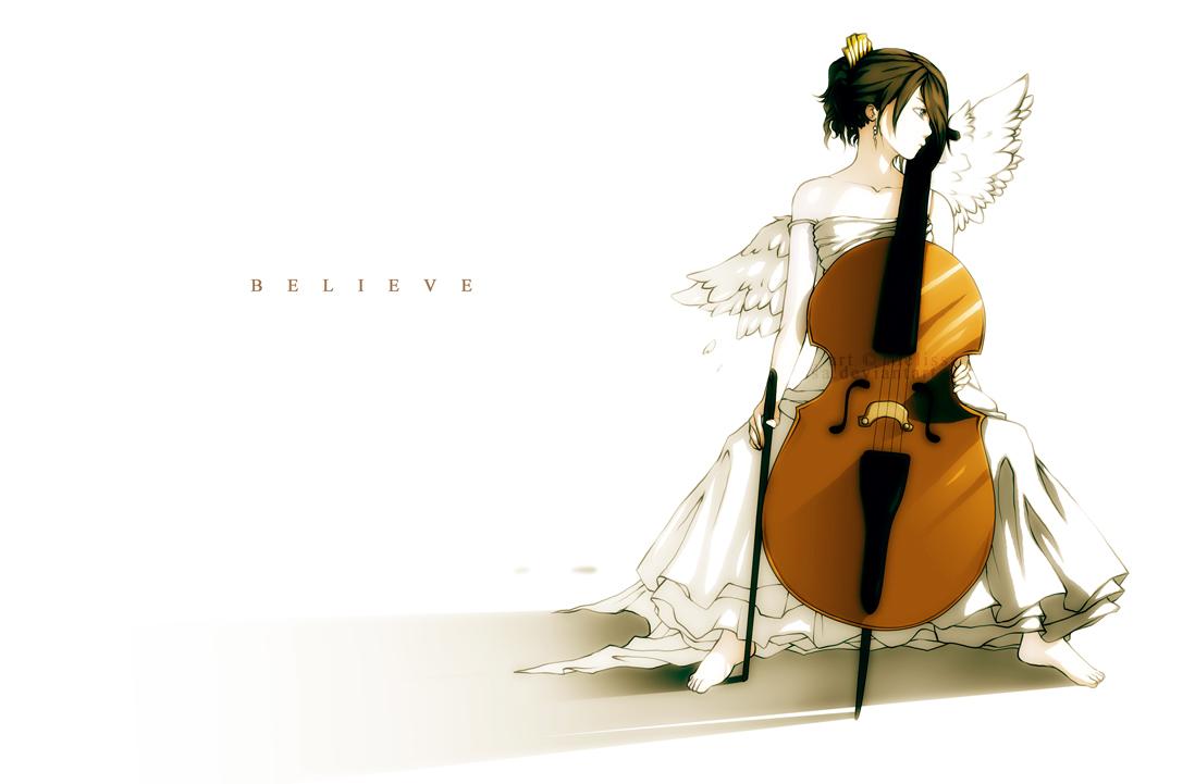 Cello Musical Instrument Zerochan Anime Image Board