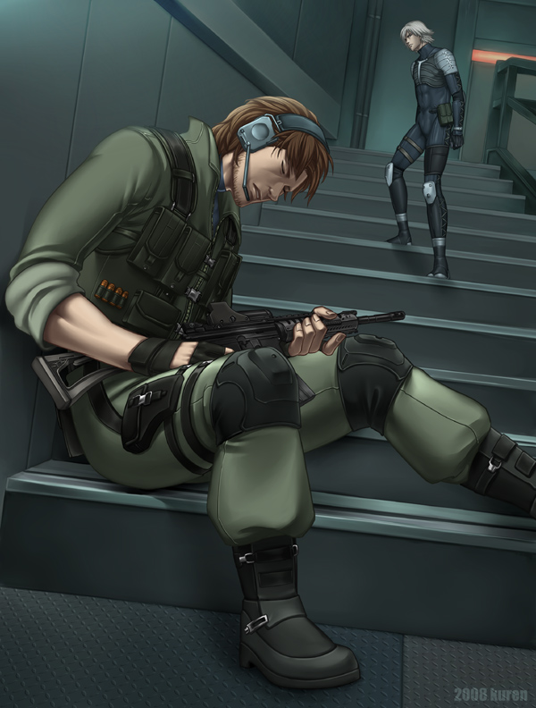 Tags: Anime, Raiden, Solid Snake