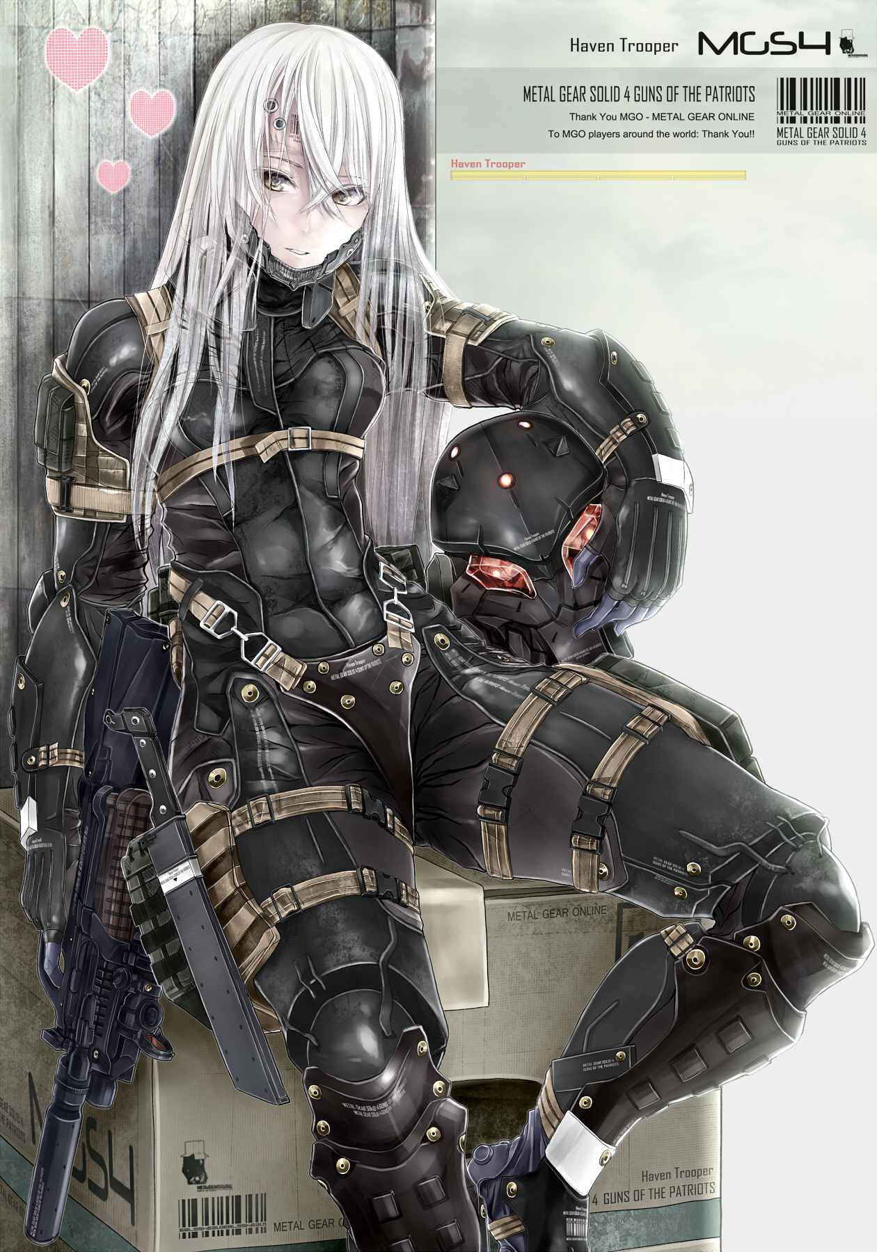 Tags: Anime, Pixiv Id 92147, Metal Gear Solid, Soldier