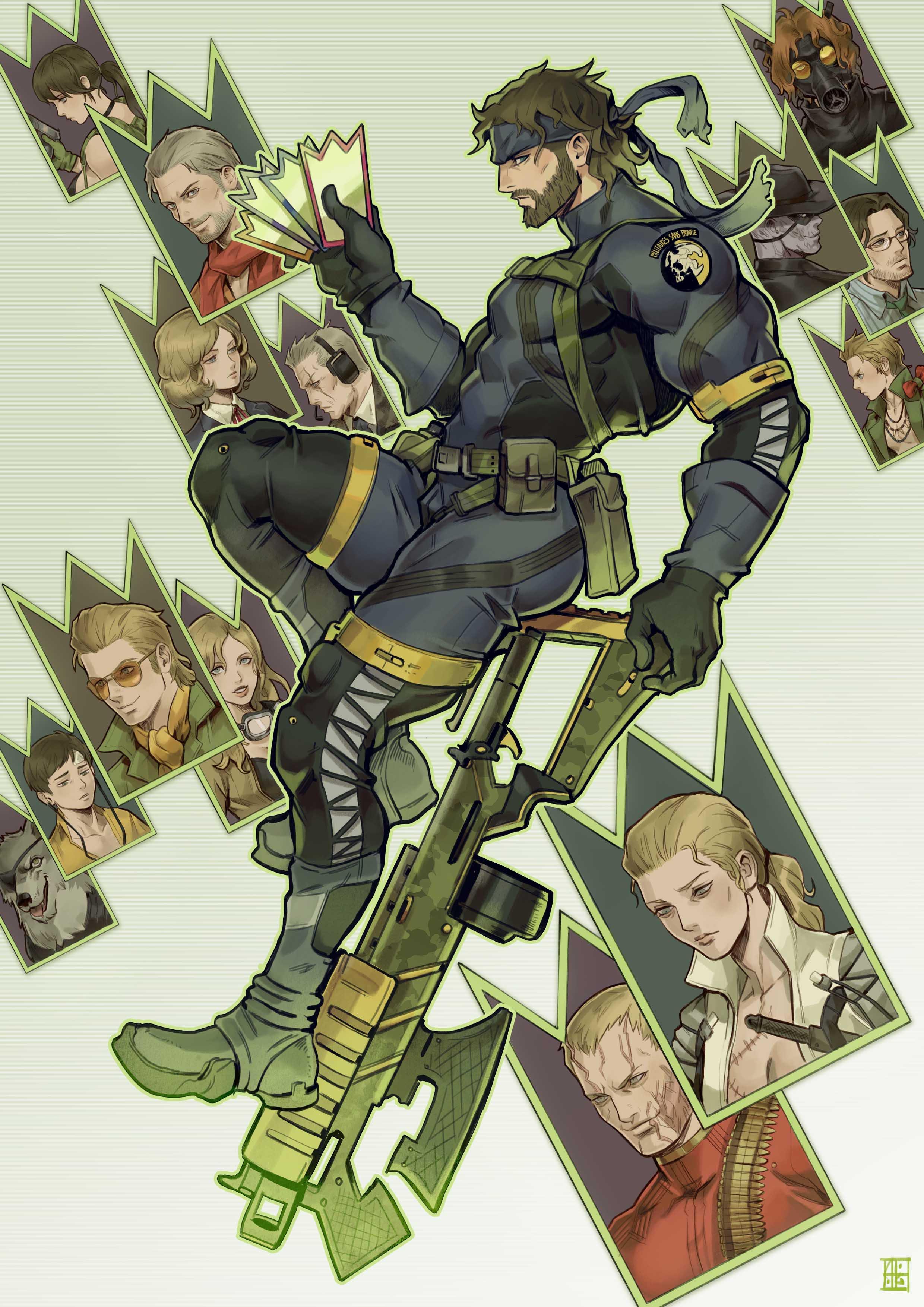 Kazuhira Miller Metal Gear Solid Zerochan Anime Image Board You should consider this for more than half a second, kazuhira miller. the cold metal of a gun was pressed against kaz. kazuhira miller metal gear solid