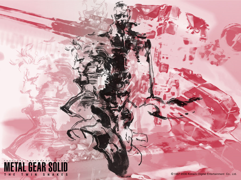 Metal Gear Solid Wallpaper 885446 Zerochan Anime Image Board