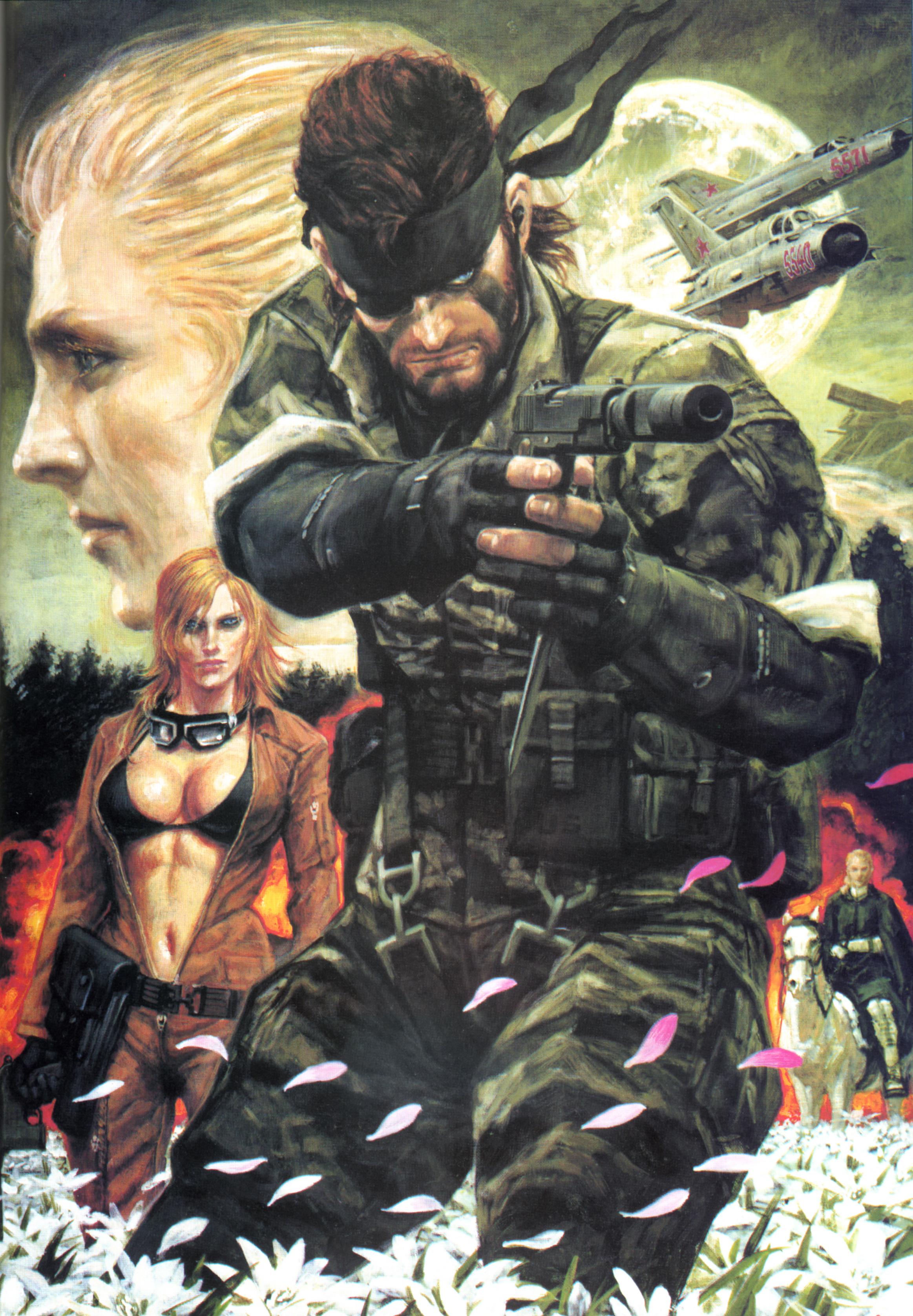 Metal Gear Solid Mobile Wallpaper 887157 Zerochan Anime Image Board