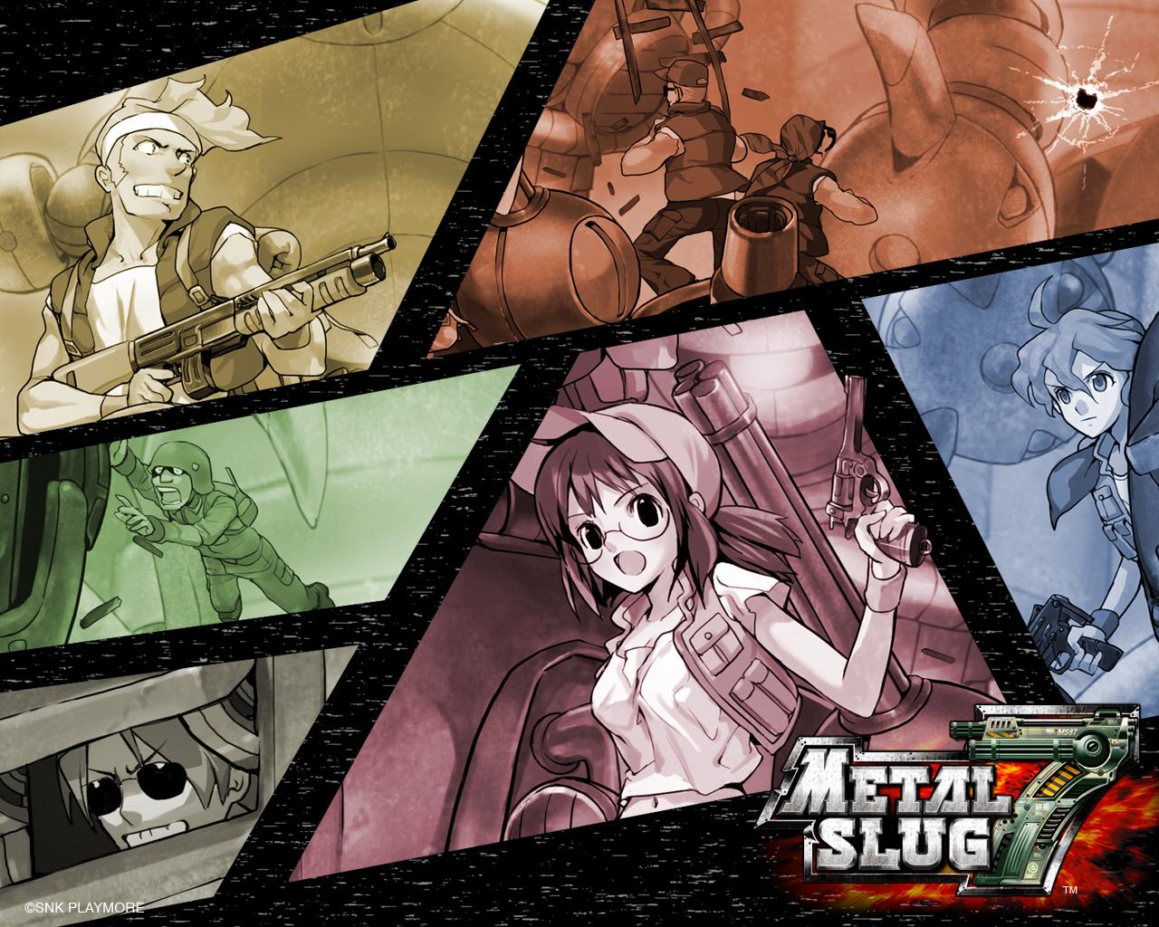Metal Slug Wallpaper 953503 Zerochan Anime Image Board