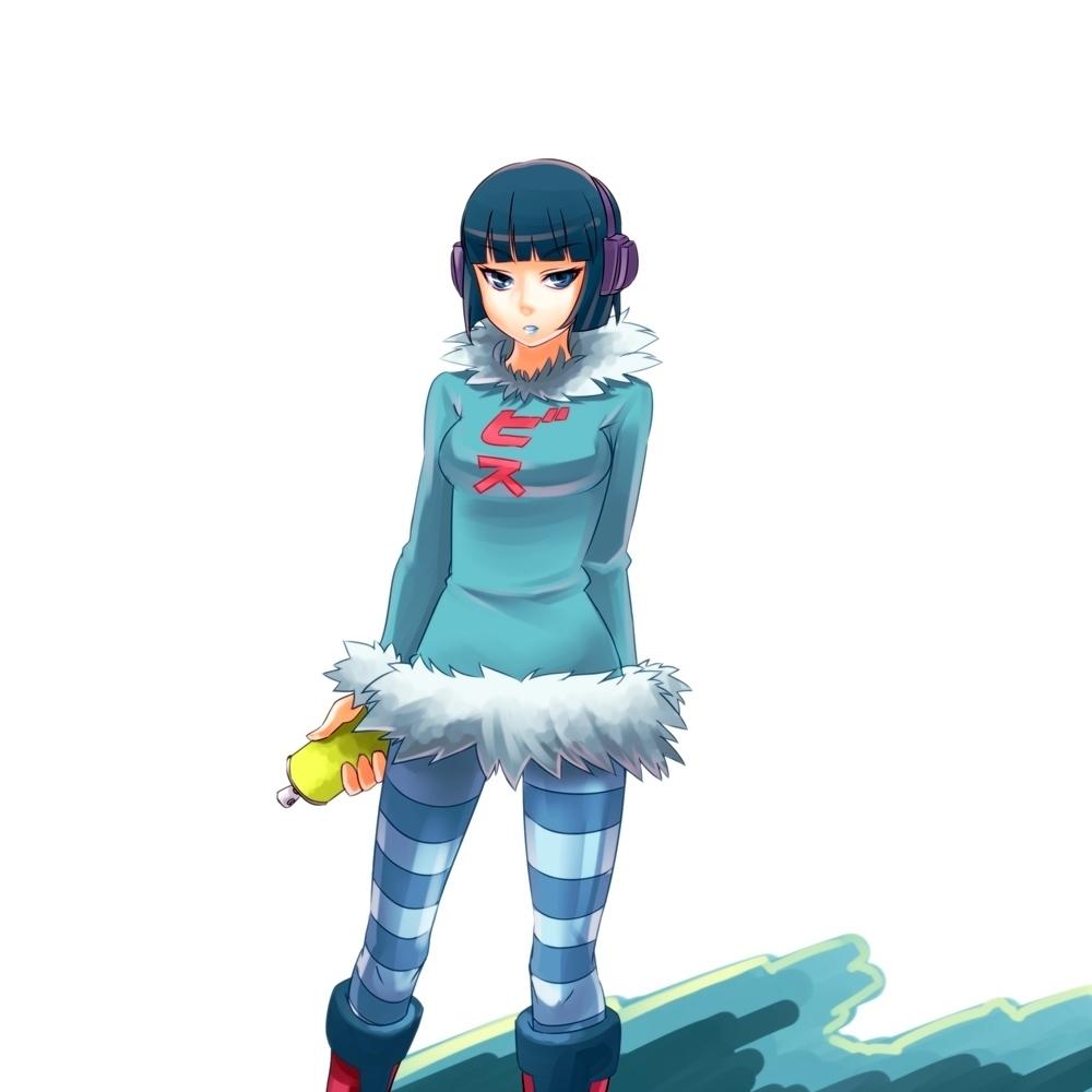 Jet Set Radio Jet Grind Radio Zerochan Anime Image Board
