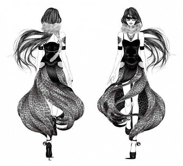 Tags: Anime, Vocaloid, Sketch, Mew (vocaloid), Otani Ryuji