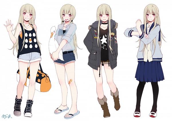Character Design Zerochan : Mia zerochan