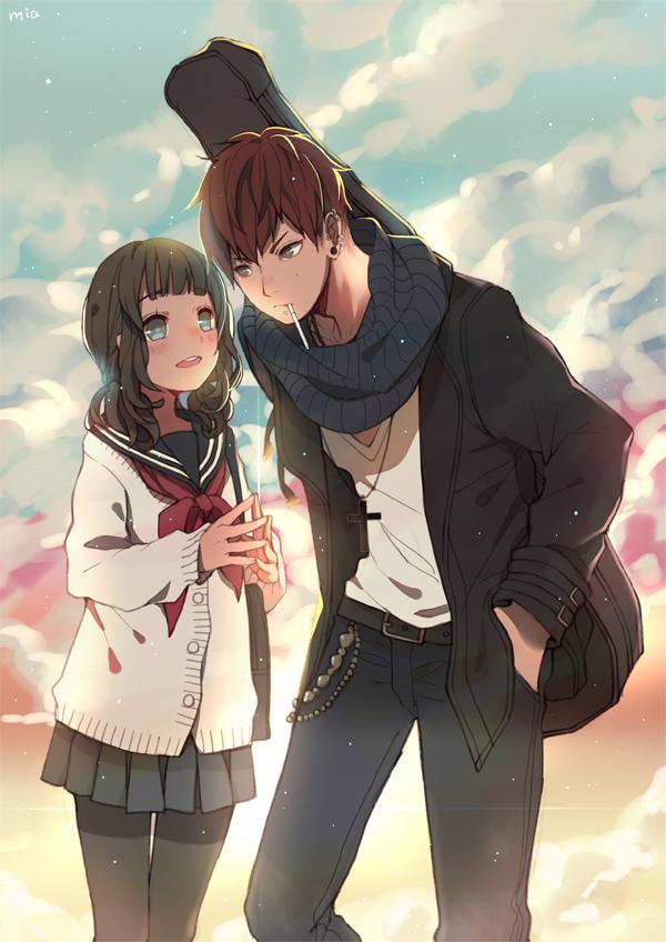 Image Result For Wallpaper Anime Girl Guitar