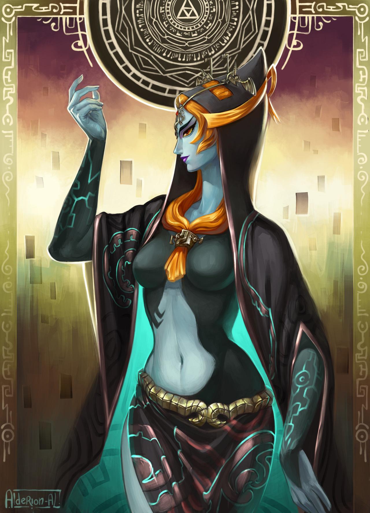 Midna (True Form) - Twilight Princess (Game) - Mobile Wallpaper ...