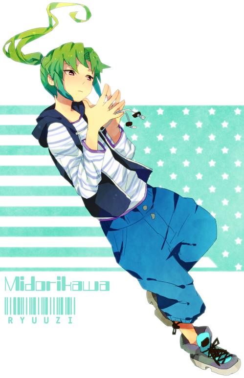 Tags: Anime, T0mare, Inazuma Eleven, Midorikawa Ryuuji, Mobile Wallpaper, Pixiv, Fanart From Pixiv, Fanart