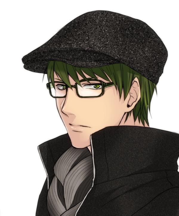 Tags: Anime, Greenishrose, Kuroko no Basuke, Midorima Shintarou, Pixiv, Fanart, Fanart From Pixiv