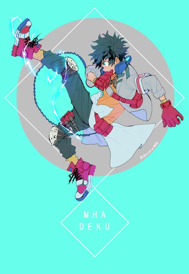 Tags: Anime, Pixiv Id 7432981, Boku no Hero Academia, Midoriya Izuku, Pixiv, Mobile Wallpaper, Fanart, Fanart From Pixiv
