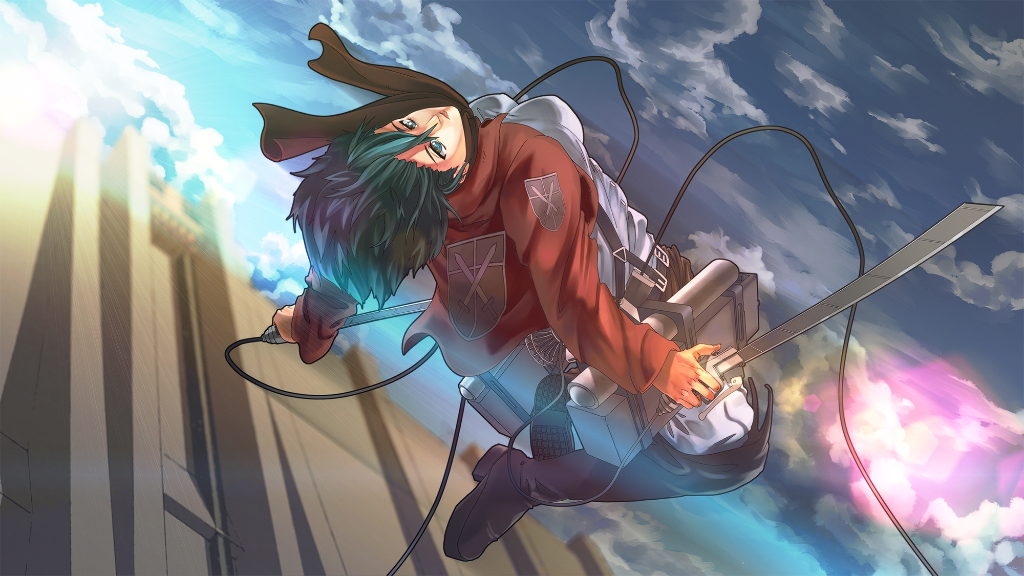 Mikasa Ackerman Attack On Titan Hd Wallpaper 1489518 Zerochan Anime Image Board