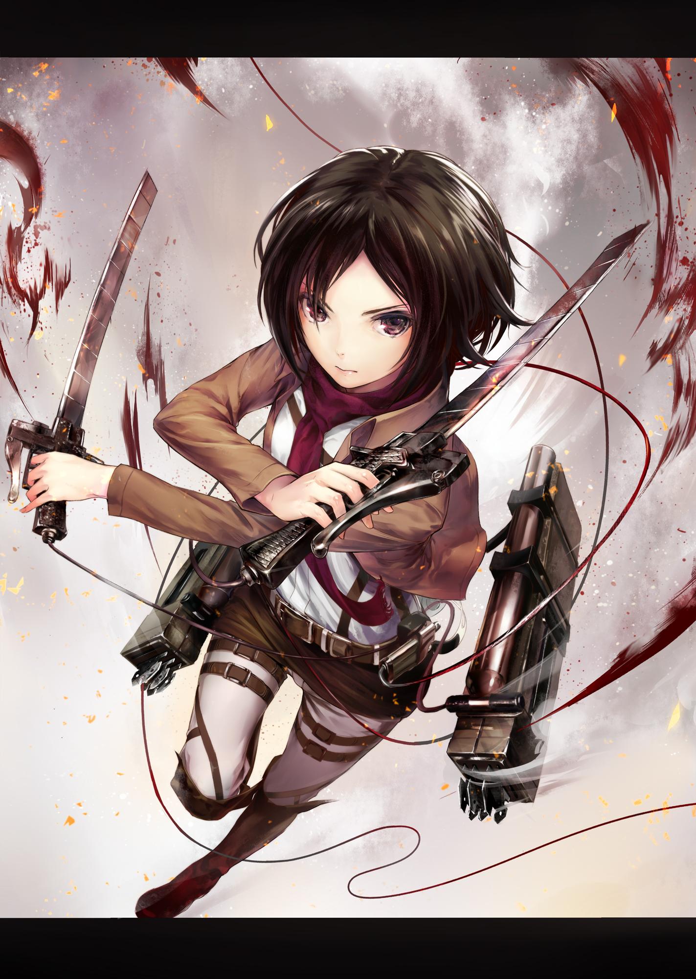 Mikasa Ackerman Attack On Titan Mobile Wallpaper 1496607