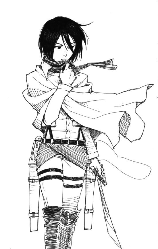 Mikasa Ackerman Attack On Titan Mobile Wallpaper 1534438 Zerochan Anime Image Board