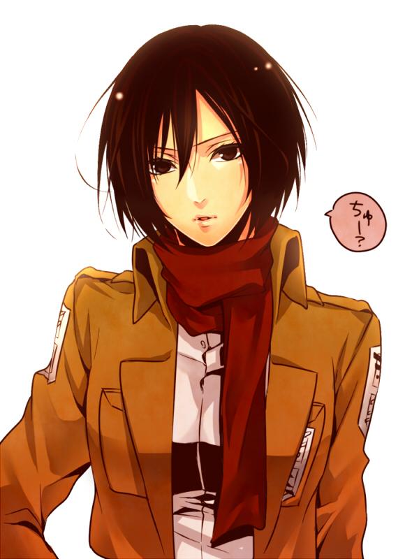 Tags: Anime, Pixiv Id 3086412, Shingeki no Kyojin, Mikasa Ackerman, 600x800 Wallpaper, 3:4 Ratio