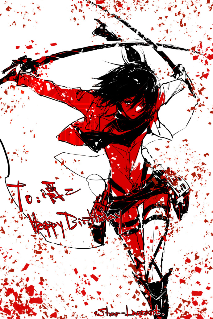 with blood splatter_Kagerou-Days _ Heat-haze days by ...