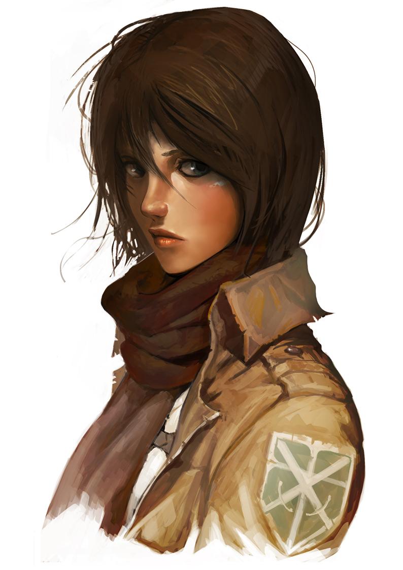Anime Characters Realistic : Mikasa ackerman zerochan