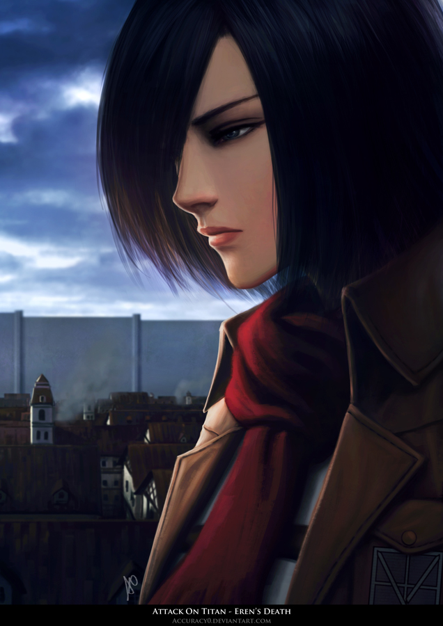 Tags: Anime, Accuracy0, Attack on Titan, Mikasa Ackerman, Fanart, Fanart From DeviantART, Mobile Wallpaper, Fanart From Pixiv, deviantART, Pixiv
