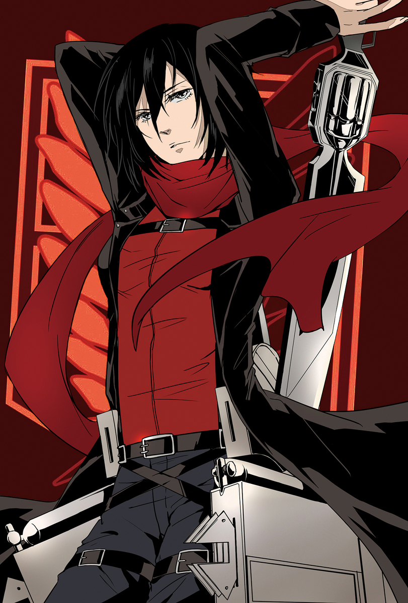 Mikasa Ackerman Attack On Titan Mobile Wallpaper 1612638 Zerochan Anime Image Board