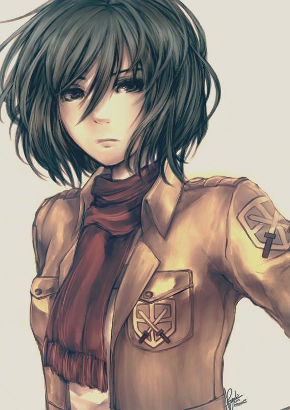 Mikasa Ackerman Attack On Titan Mobile Wallpaper