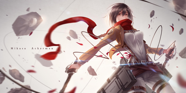 Mikasa Ackerman Attack On Titan Wallpaper 1632480 Zerochan