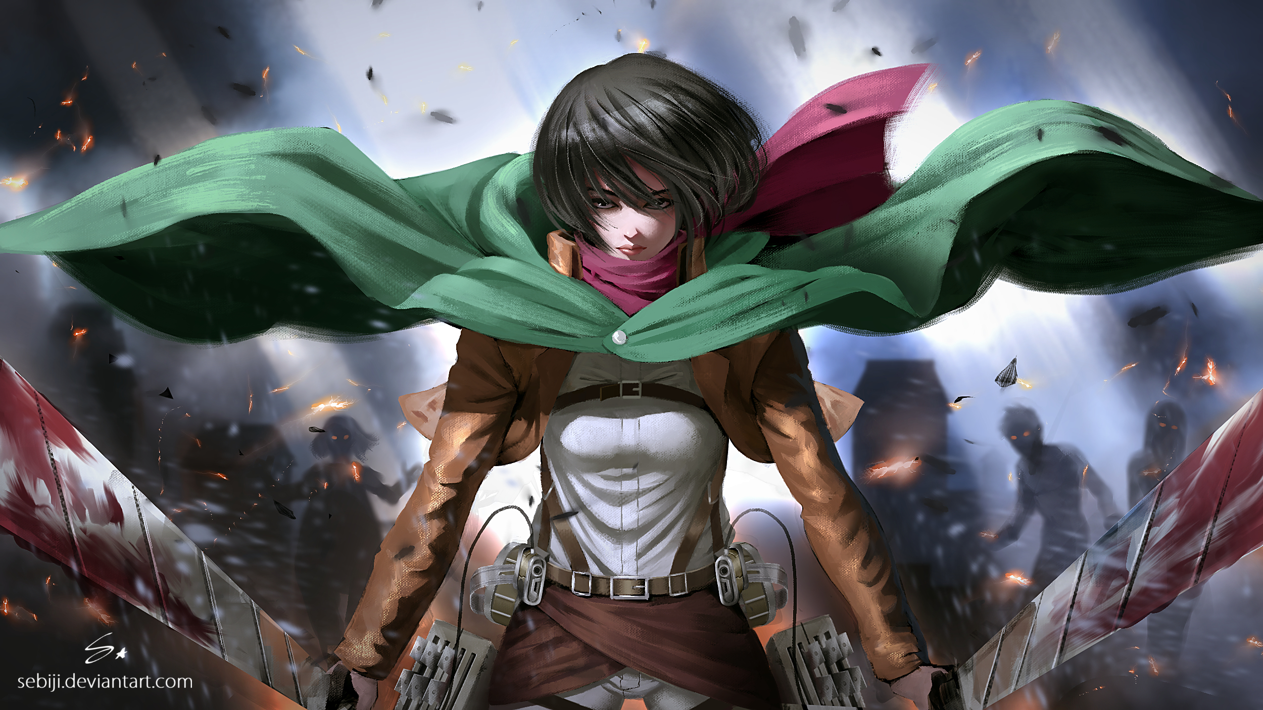 Anime Mikasa Ackerman Attack On Titan Anime Wallpapers