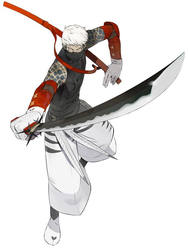 Tags: Anime, Okama, Onore no Shinzuru Michi wo Yuke, Mikazuchimaru, Official Art