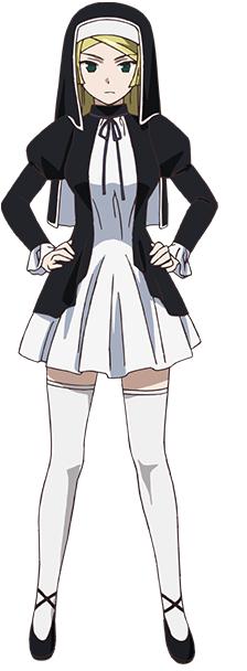 Tags: Anime, Karasu Hiroaki, ARMS (Studio), Gokukoku no Brynhildr, Miki (Gokukoku no Brynhildr), Cover Image, Official Art