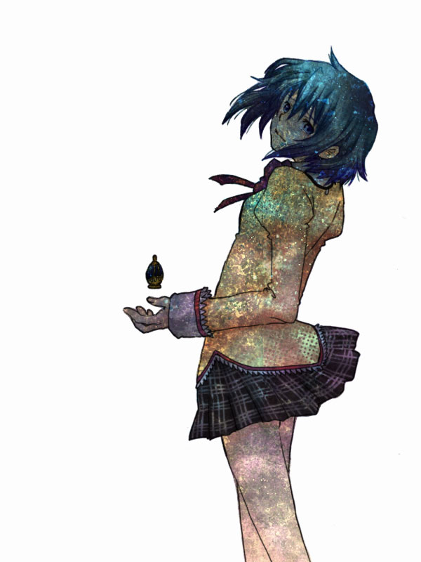 Tags: Anime, Oda Kanan, Oda (Ok3110), Mahou Shoujo Madoka☆Magica, Miki Sayaka