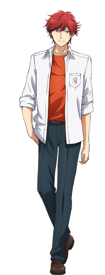 Tags: Anime, Taniguchi Junichiro, Dogakobo, Gekkan Shoujo Nozaki-kun, Mikoshiba Mikoto, Official Art, Cover Image, PNG Conversion