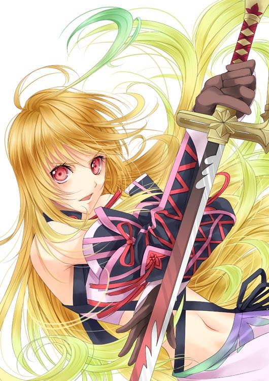 Tags: Anime, Miyama Kiri, Tales of Xillia, Milla Maxwell, Mobile Wallpaper