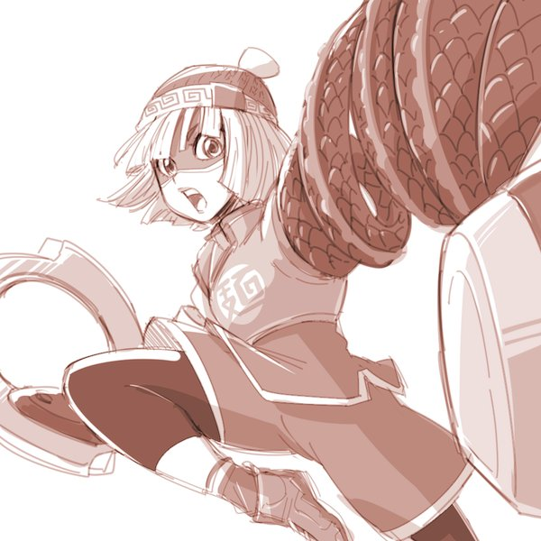 Tags: Anime, Pixiv Id 7690456, ARMS (Game), Min Min (ARMS), Twitter, Fanart